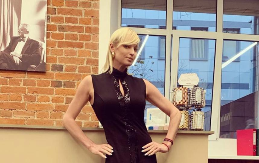 Волочкова сменила причёску. Фото instagram.com/volochkova_art