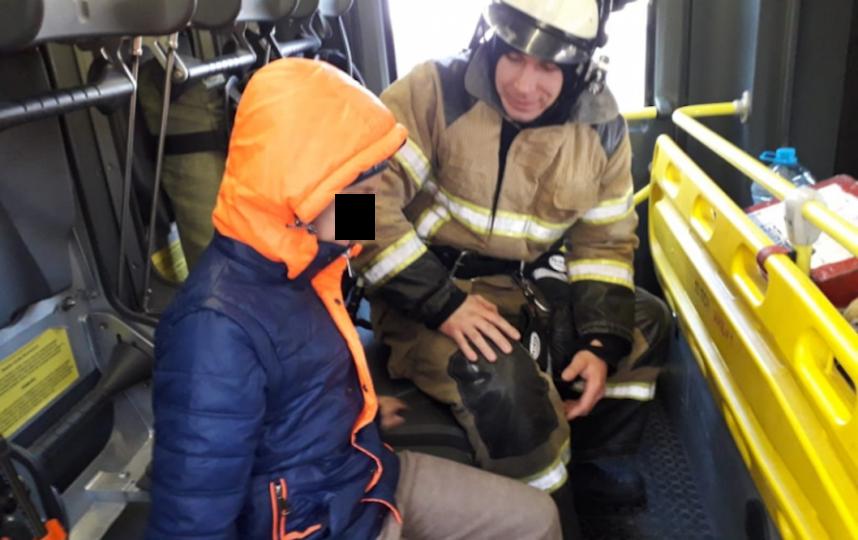 Мальчик получил новые эмоции. Фото 61.mchs.gov.ru/