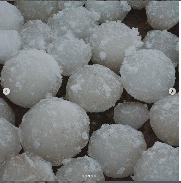 """Фото ледяных шаров появились в соцсетях местных жителей. Фото https://www.instagram.com/kimmokristianrajala/, """"Metro"""""""