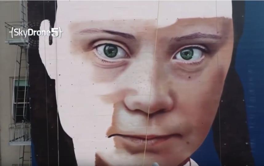 Автор проекта - аргентинский художник Cobre. Фото скриншот https://www.youtube.com/watch?v=KAzqC0Rp6fI, Скриншот Youtube
