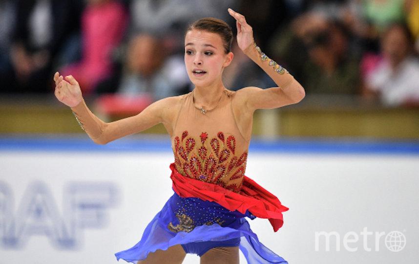Анна Щербакова. Фото РИА Новости