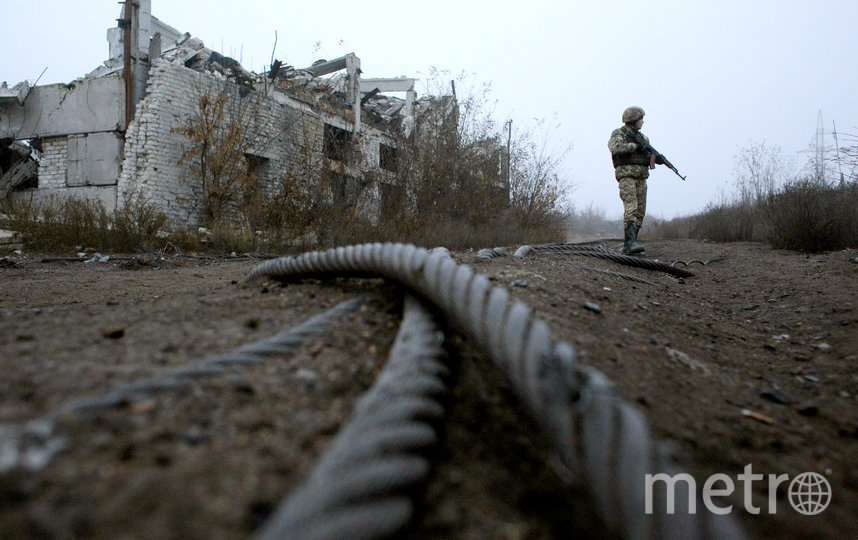 ДНР и Украина начали разведение сил в Петровском. Фото AFP