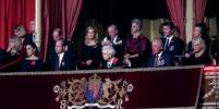 Принц Уильям и Кейт Миддлтон сидели рядом с Елизаветой II на концерте