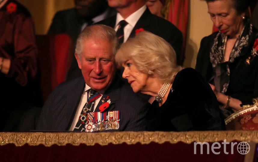 Принц Чарльз и Камилла в королевской ложе. Фото Getty