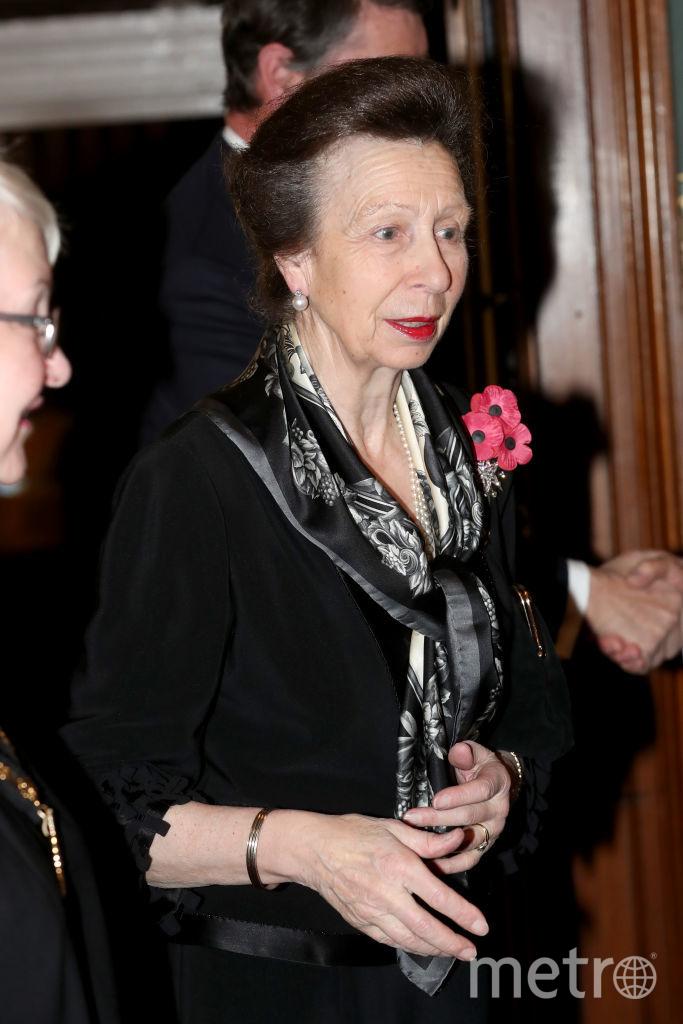 Дочь Елизаветы II принцесса Анна. Фото Getty