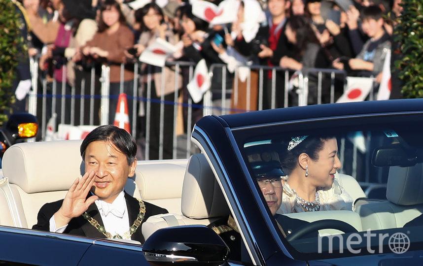 В Токио прошёл торжественный парад по случаю интронизации нового императора Японии. Фото AFP