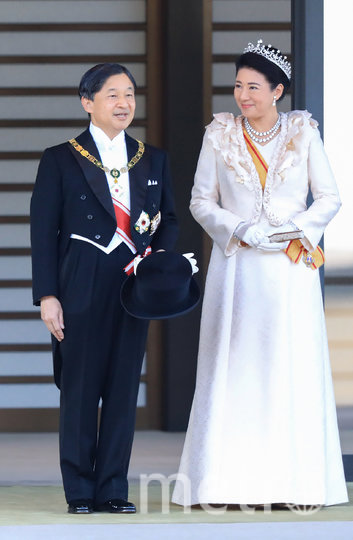 Император Нарухито и императрица Масако. Фото AFP