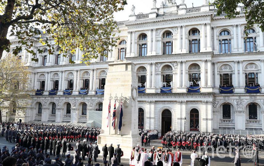 10 ноября в Лондоне прошел парад. Фото Getty