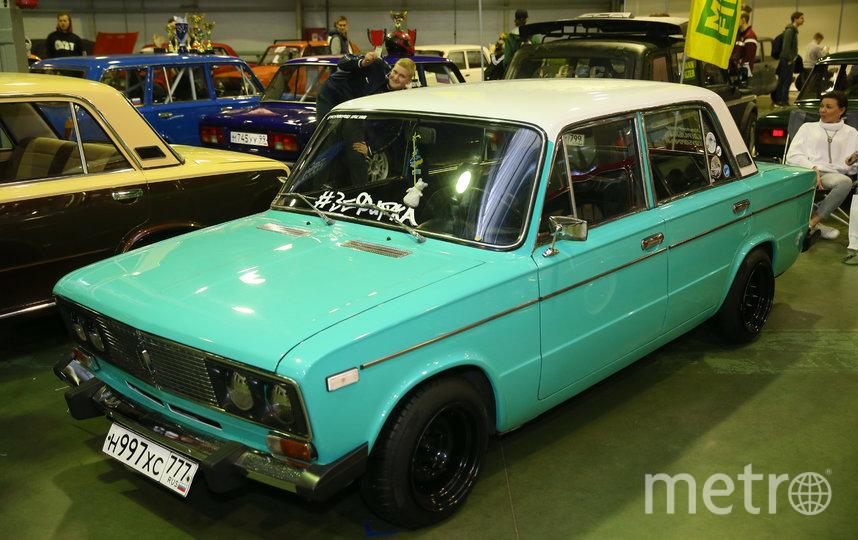 Машина Алексея Кулагина – Зефирка. Фото Василий Кузьмичёнок