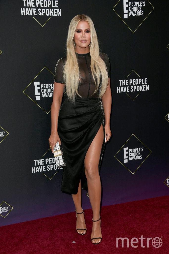 People's Choice Awards 2019. Хлое Кардашьян. Фото Getty
