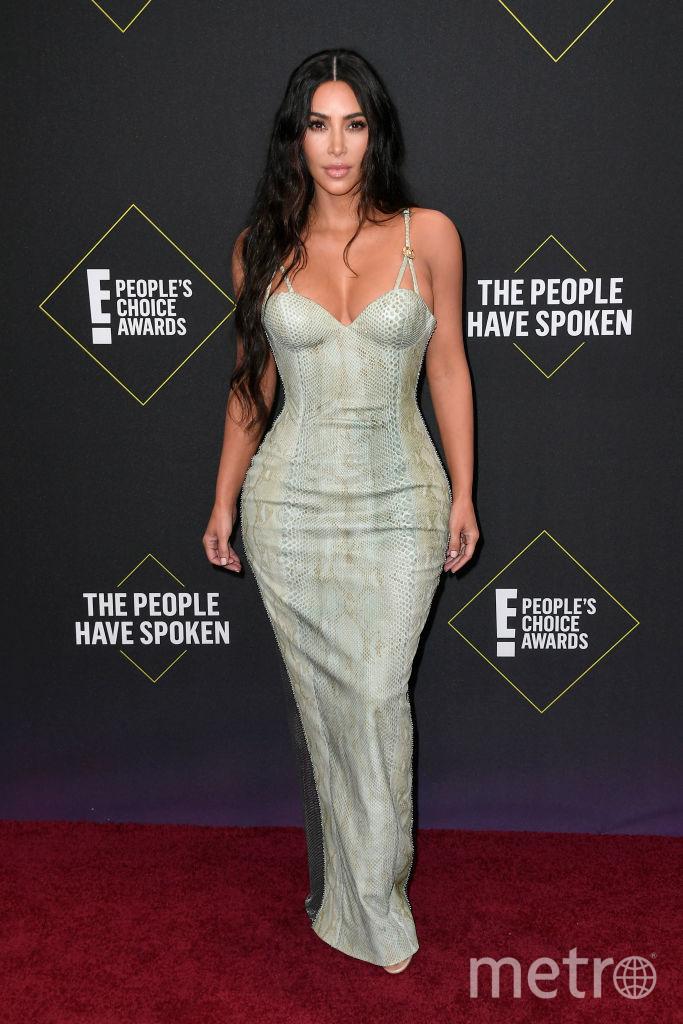 People's Choice Awards 2019. Ким Кардашьян. Фото Getty