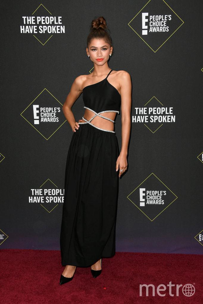 People's Choice Awards 2019. Зендая. Фото Getty