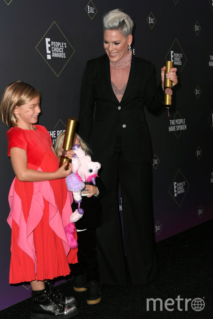 People's Choice Awards 2019. Пинк с дочкой. Фото Getty