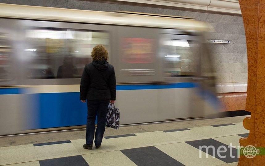 Движение поездов на Кольцевой линии метро в Москве ввели в график после сбоя. Фото Василий Кузьмичёнок