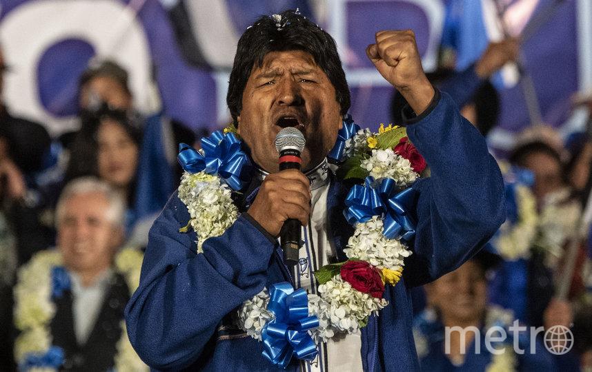 Экс-президент Боливии Эво Моралес. Фото AFP
