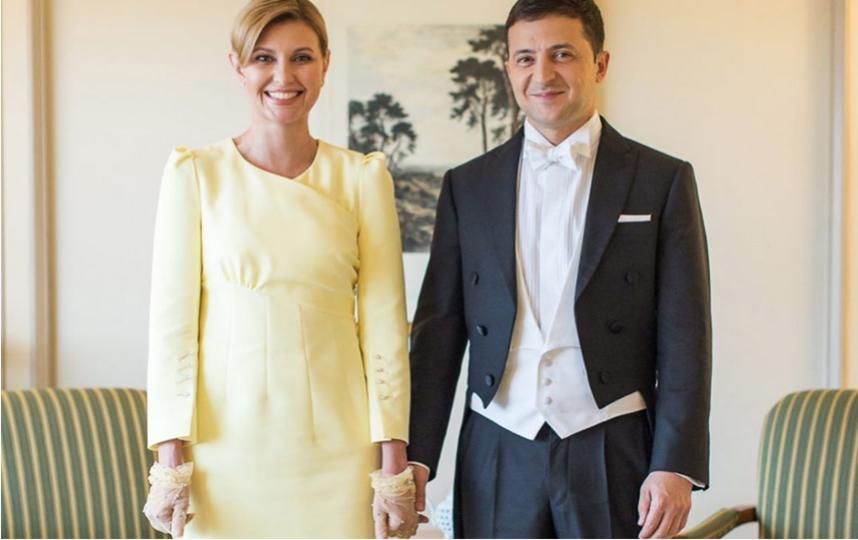 Елена и Владимир Зеленские. Фото Скриншот Instagram: @zelenskiy_official