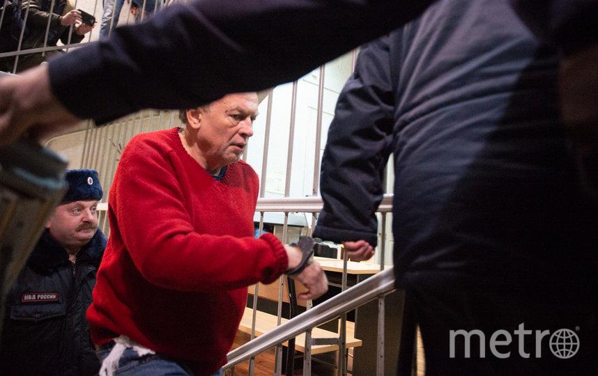 """Олег Соколов в здании суда 11 ноября. Фото Святослав Акимов, """"Metro"""""""