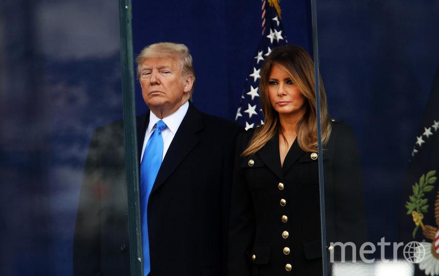 Мелания и Дональд Трамп. Фото Getty