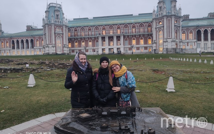 Катя, Александра и Ева в Царицыно. Фото Катажина Рыжко