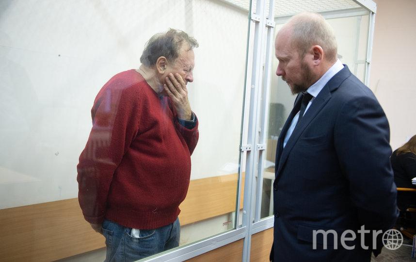 """Олег Соколов в зале суда. Фото Святослав Акимов, """"Metro"""""""