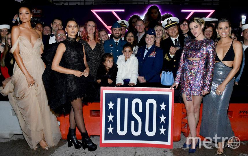 Элла Балинска, Наоми Скотт, Кристен Стюарт и Элизабет Бэнкс. Фото Getty