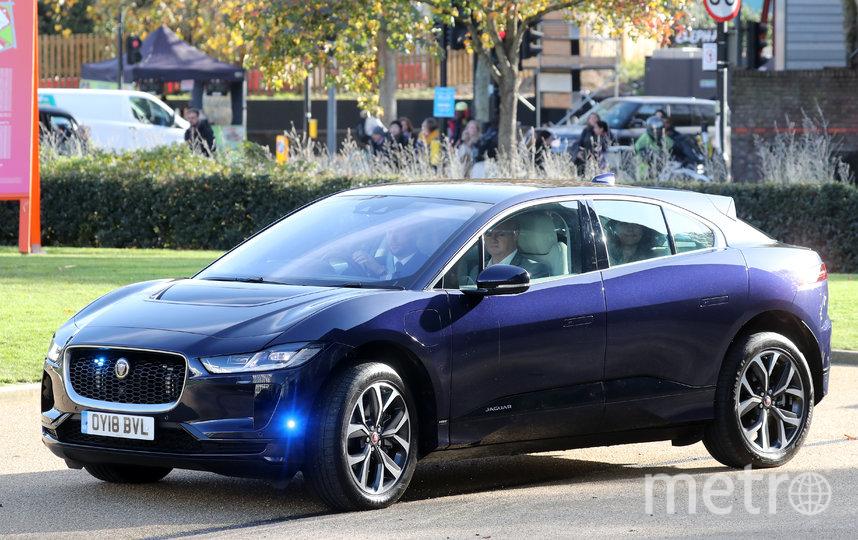 Кейт Миддлтон и принц Уильям прибыли на встречу 12 ноября на этом авто. Фото Getty