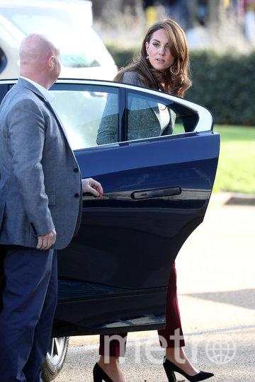 Кейт Миддлтон и принц Уильям прибыли на встречу 12 ноября. Фото Getty