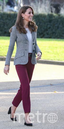 Кейт Миддлтон прибыла на встречу 12 ноября. Фото Getty