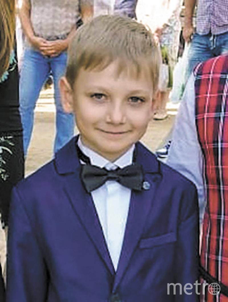 Миша, 8 лет. Фото предоставлено родителями