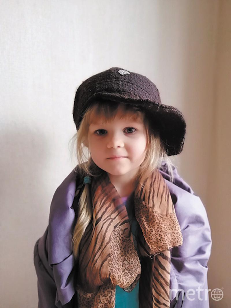 Таисия, 4 года. Фото предоставлено родителями