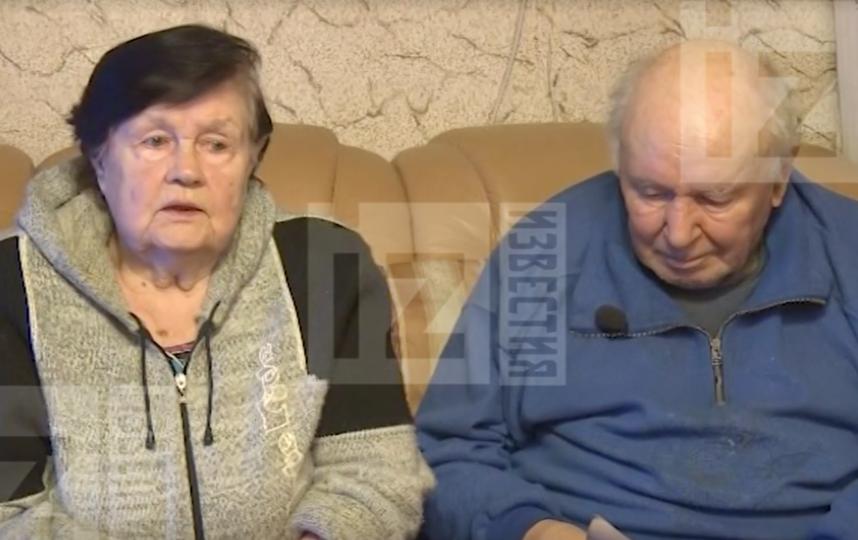 Родители Олега Соколова. Фото Скриншот видео Пятого канала.