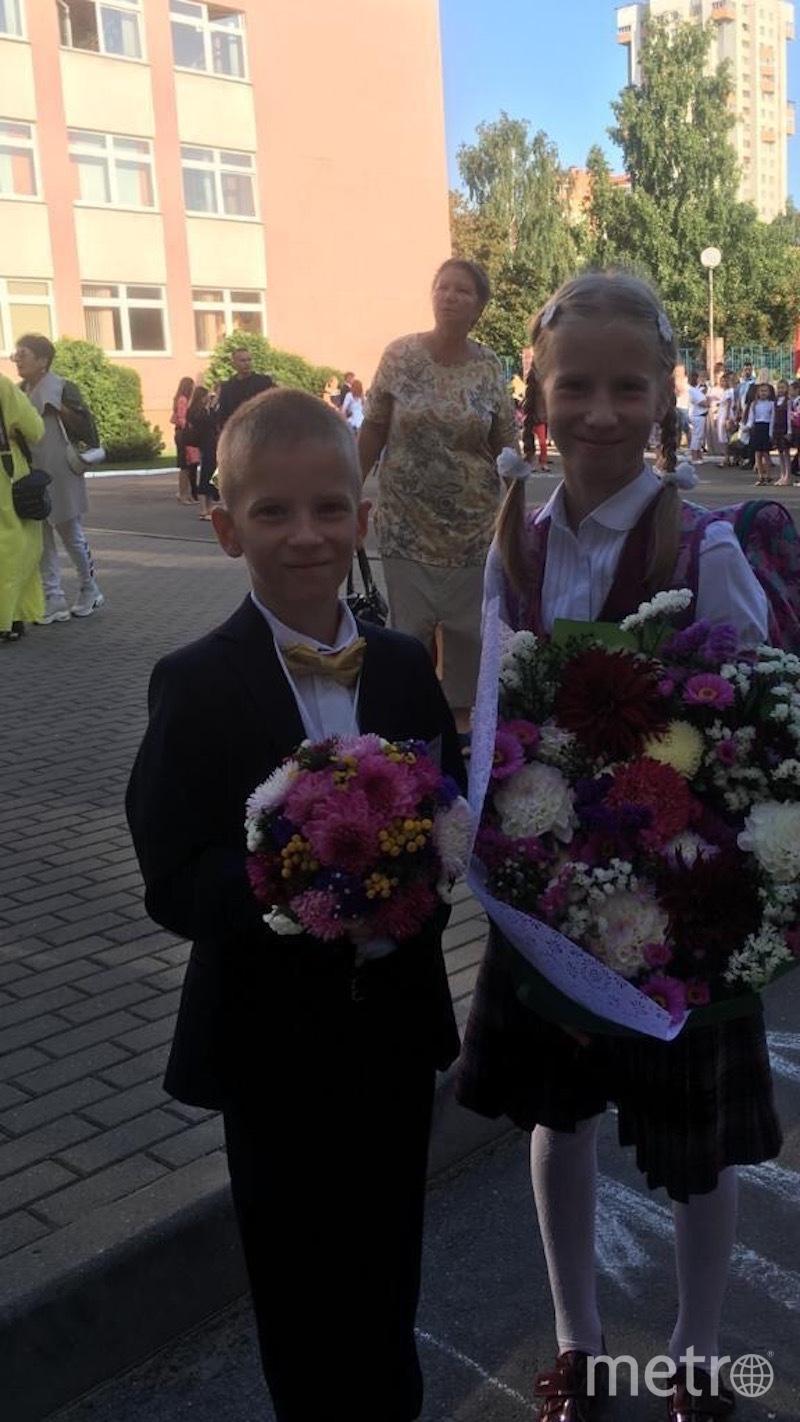 Милана (9 лет) и Семён (7 лет). Фото предоставлено родителями