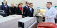 Дмитрий Медведев дал старт производству вакцины от лихорадки Эбола в Новосибирске