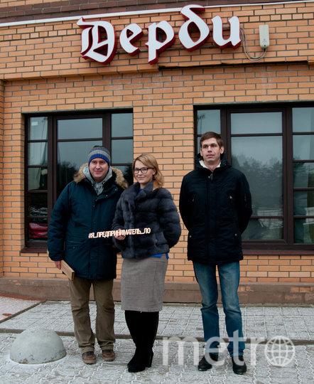 "Мария Локтионова (в центре). Фото Анна Лутченкова, ""Metro"""