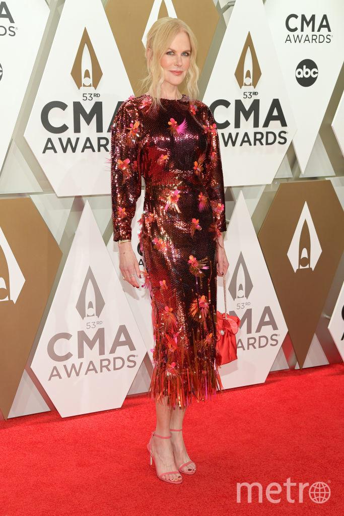 CMA Awards-2019. Николь Кидман. Фото Getty