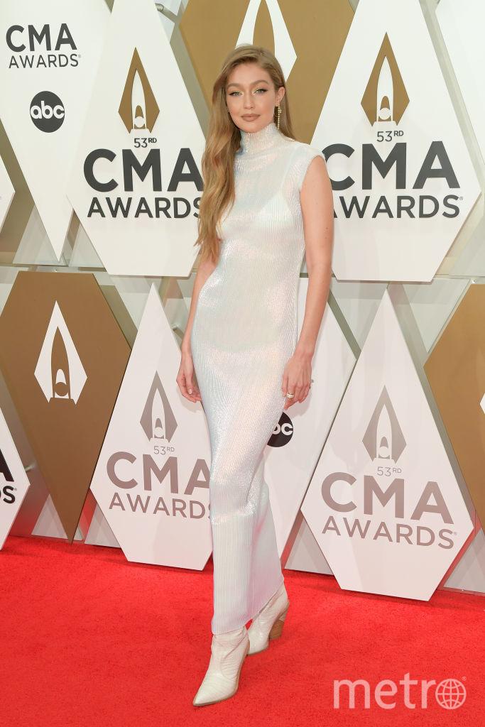 CMA Awards-2019. Джиджи Хадид. Фото Getty