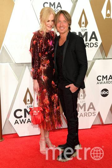 CMA Awards-2019. Николь Кидман и Кит Урбан. Фото Getty