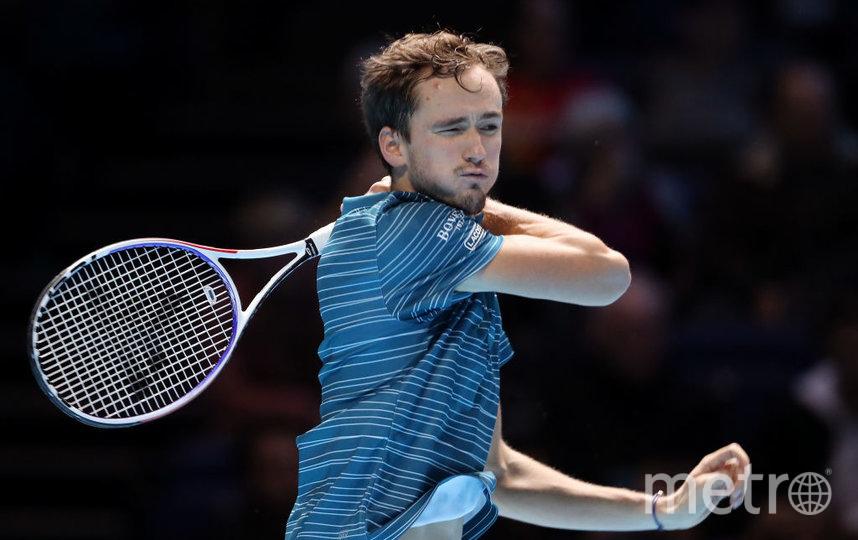Даниил Медведев: надеюсь, больше таких матчей не будет. Фото Getty