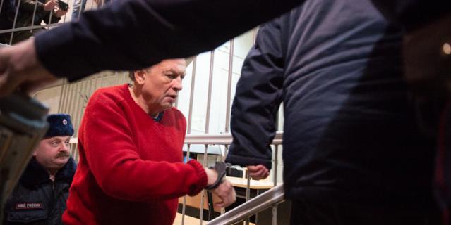 Олег Соколов в зале суда 11 ноября 2019 года.