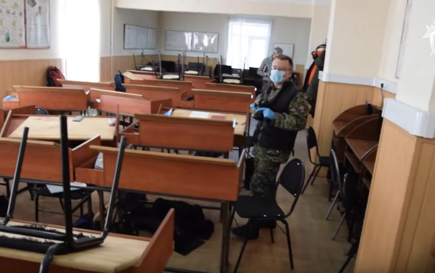 Стрельба произошла в Амурском колледже строительства и жилищно-коммунального хозяйства. Фото СК РФ