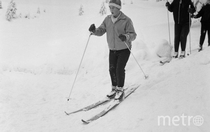 В Швейцарии в 1963 году. Фото Getty