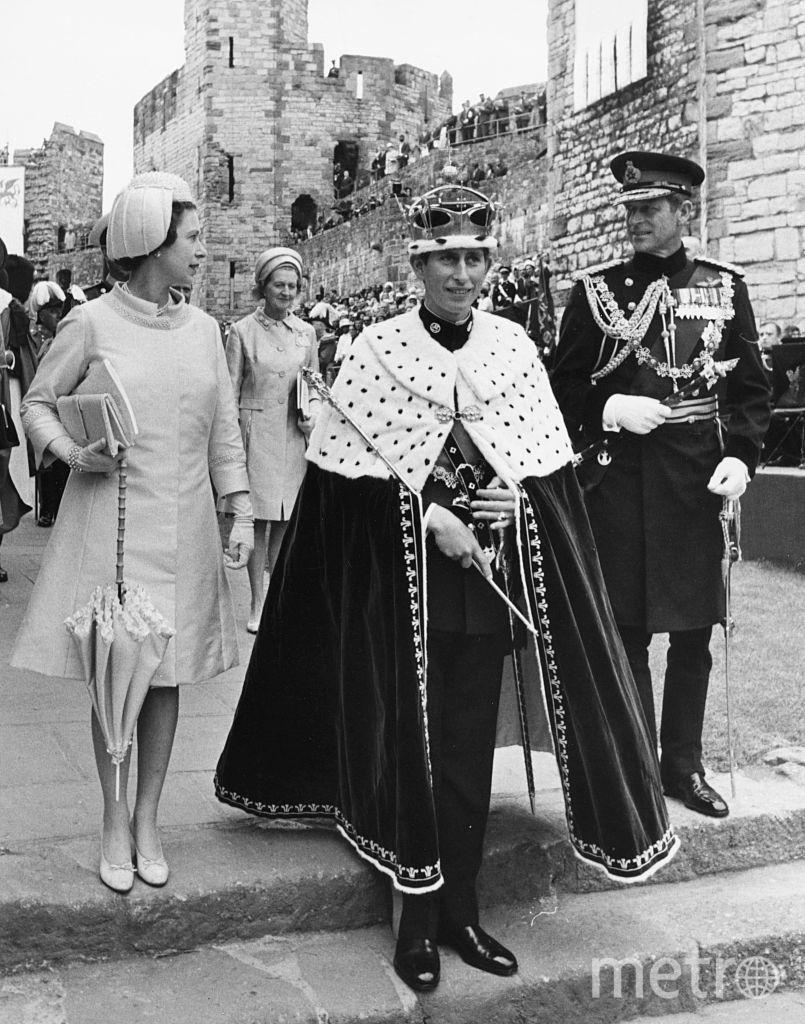 Принц Чарльз получил титул Принца Уэльского в 1969 году. Фото Getty