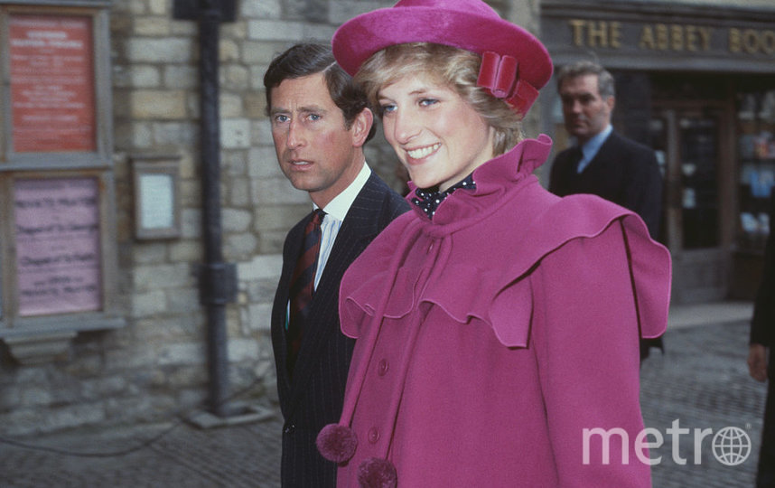С супругой принцессой Дианой в 1982 году. Фото Getty
