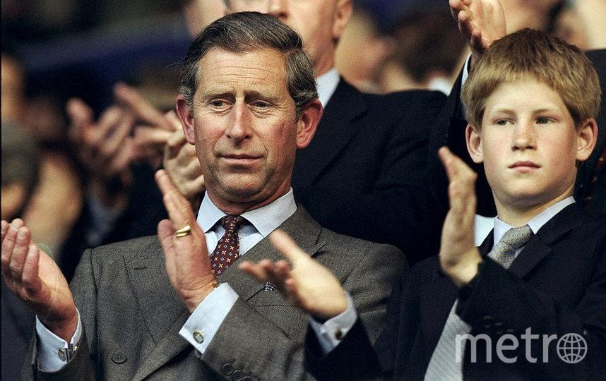 С принцем Гарри в 19898 году. Фото Getty
