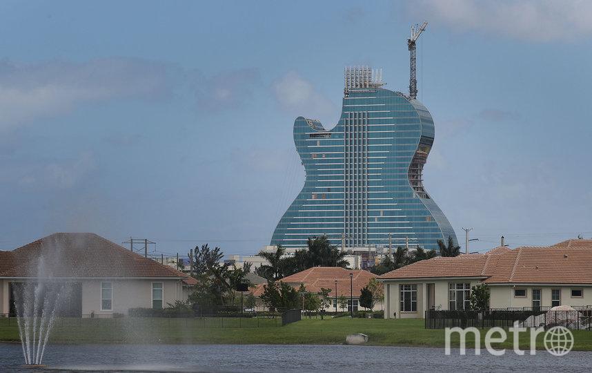 В строительство уникального отеля вложено 1,5 млрд долларов. Фото Getty