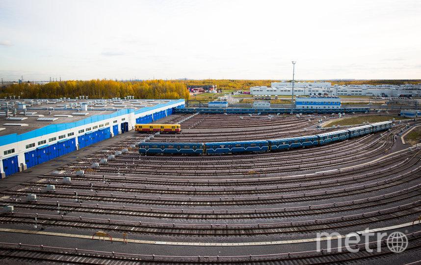 "Южное депо. Фото ""Metro"""