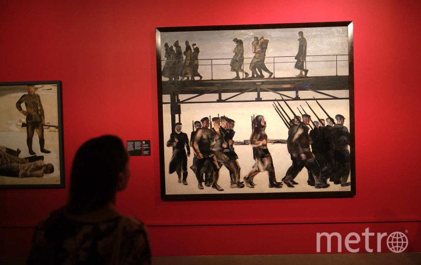 """Выставка """"Дейнека/Самохвалов"""". Фото Святослав Акимов, """"Metro"""""""