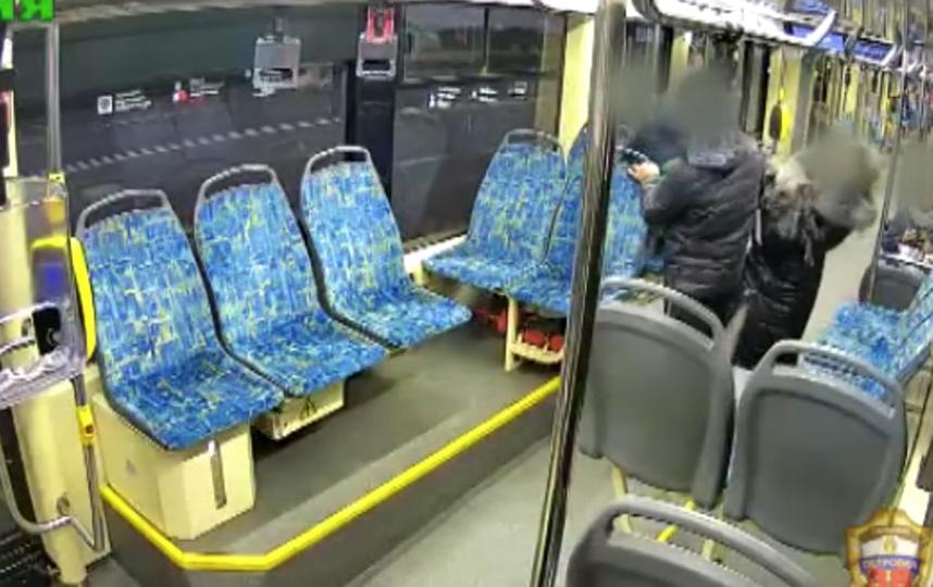 С места ЧП. Фото Скриншот видео МВД