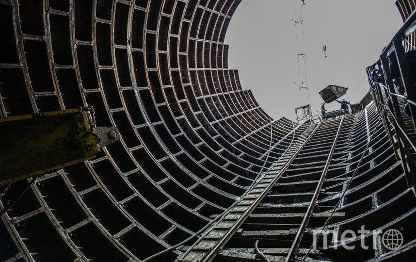 """Фото с места строительства """"Казаковской"""". Фото Святослав Акимов, """"Metro"""""""