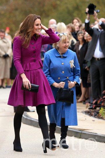 Кейт Миддлтон нанесла визит в хоспис. Фото Getty